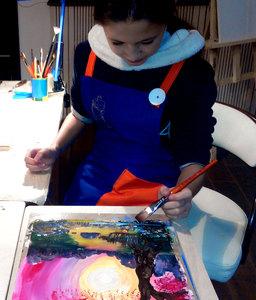 Техника живописи гуашью в Киеве