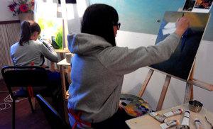 картина маслом в школе живописи ArtClass