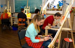 Корпоративний майстер-клас - малюєм разом!