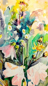 Промальовуємо польові квіти