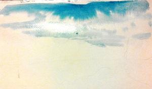 промальовуємо небо та хмари