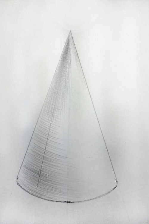 Штриховка конуса