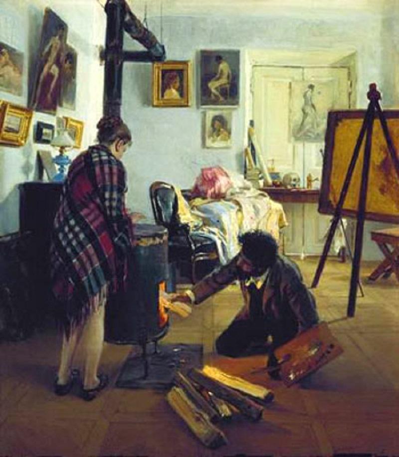 Прянишников И.М. «В мастерской художника»