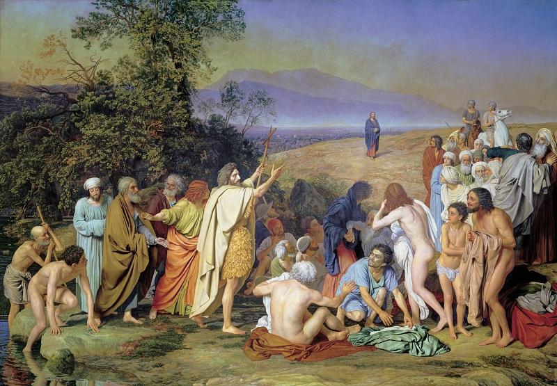 А.А.Иванов. «Явление Христа народу»