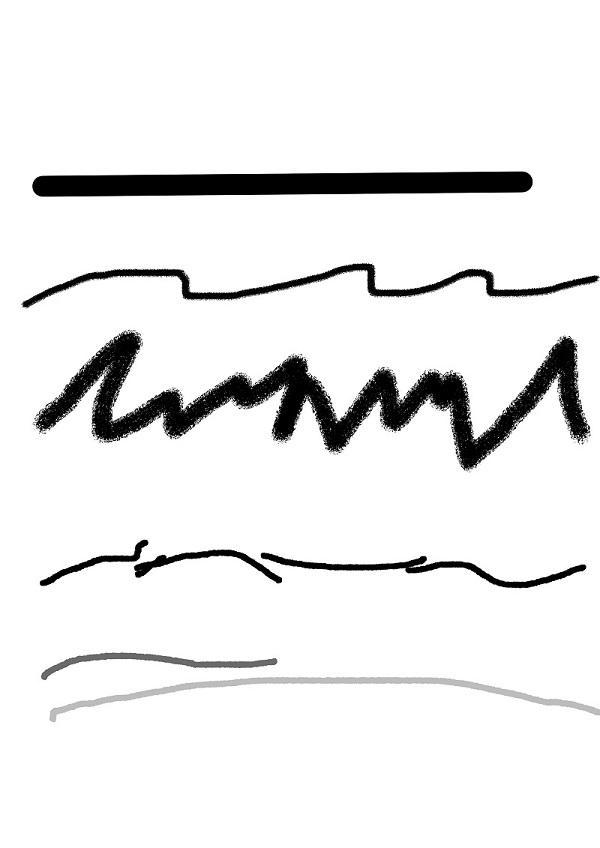 Линия как основной композиционный элемент в живописи